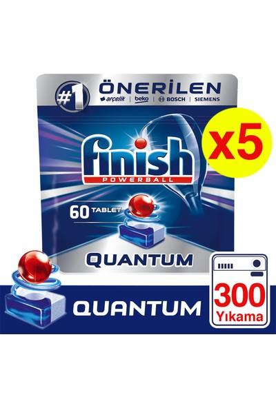 Finish Quantum 300 Tablet Bulaşık Makinesi Deterjanı (60x5)