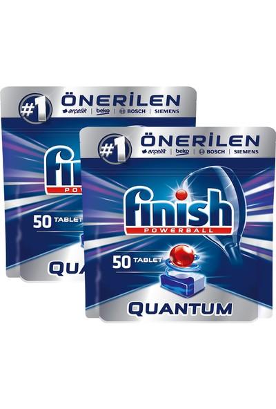 Finish Quantum 100 Tablet Bulaşık Makinesi Deterjanı (50x2)