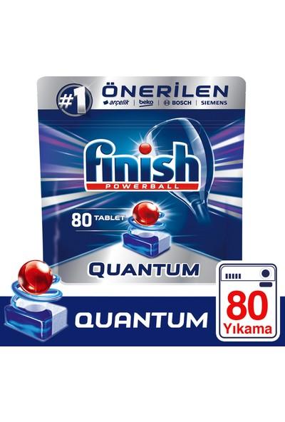 Finish Quantum 80 Tablet Bulaşık Makinesi Deterjanı