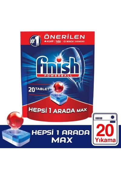 Finish Hepsi Bir Arada 20 Tablet Bulaşık Makinesi Deterjanı