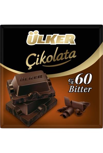 Ülker Çikolata %60 Bitter Kare 60grx6