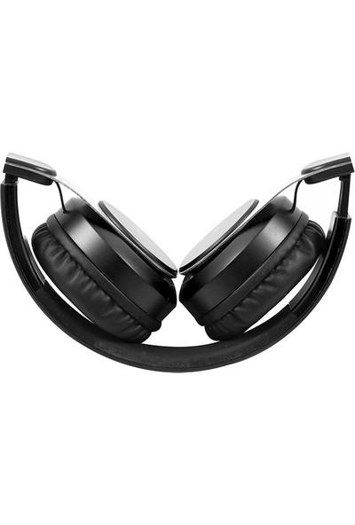 Snopy SN-34BT COSY Siyah Mobil Telefon Uyumlu Bluetooth Kablosuz Mikrofonlu Kulaklık