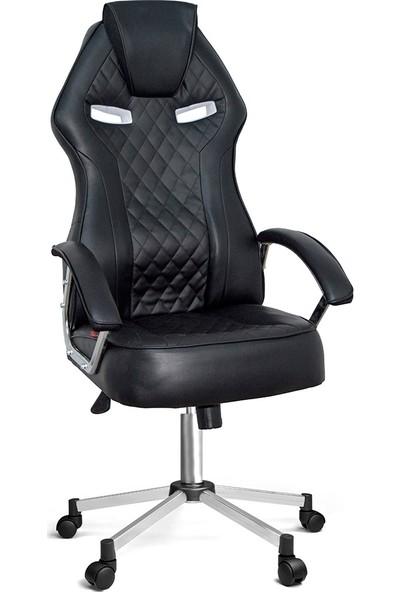 Ofisin Hazır Optimus Oyuncu Koltuğu Siyah