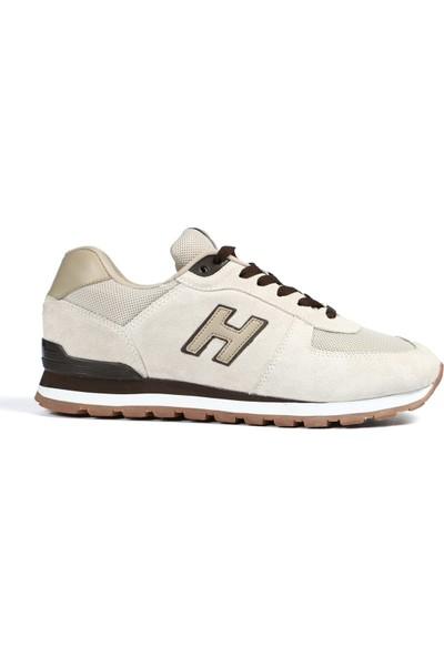Hammer Jack Hakiki Deri Günlük Kadın-Erkek Spor Ayakkabı 19250