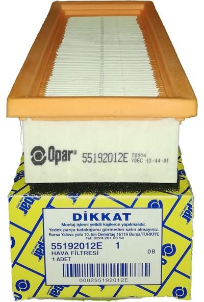 Opar Doblo - Linea - Albea - Punto Hava Filtresi 55192012E
