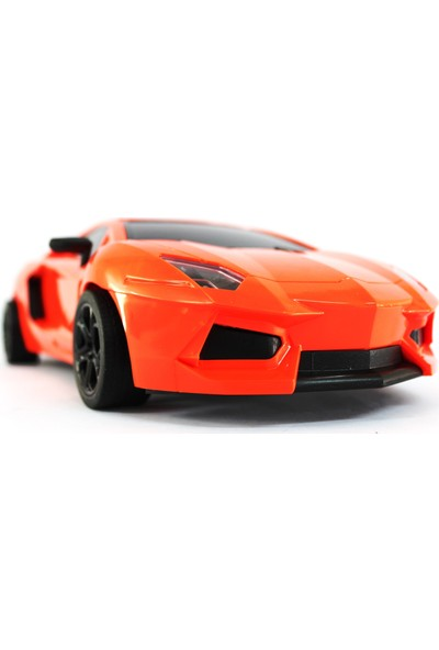 Toysan Oyuncak Uzaktan Kumandalı Dev Boy Ferrari Şarjlı Turuncu