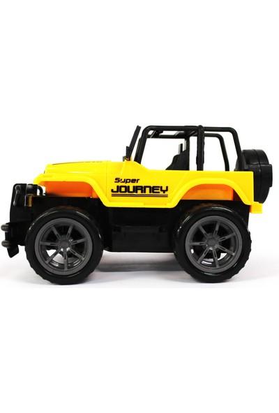 Erdem Oyuncak Safari Kumandalı Jeep Sarı