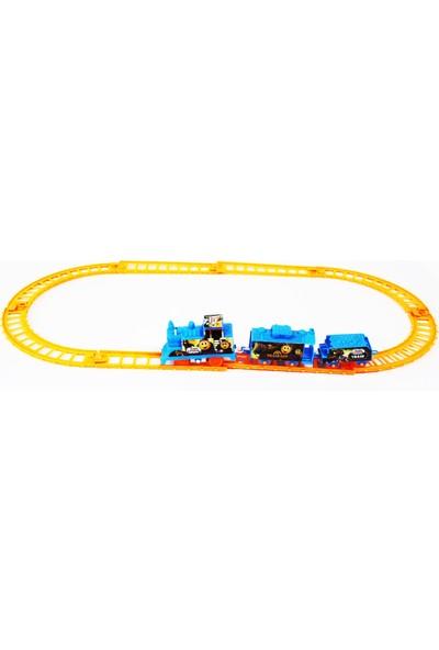 Özmiş Oyuncak Tren Seti Pilli 11 Parça