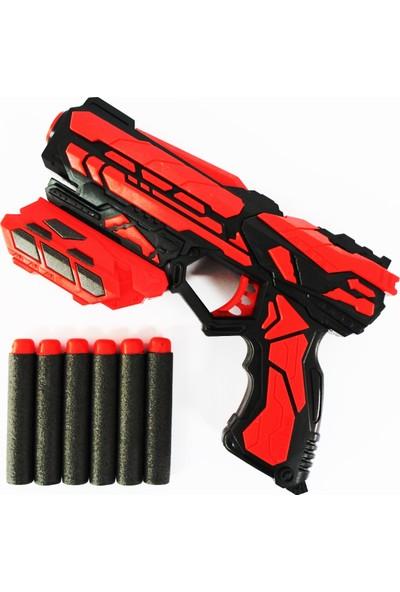 Furkan Oyuncak Nerf Kırmızı Sünger Atan Silah