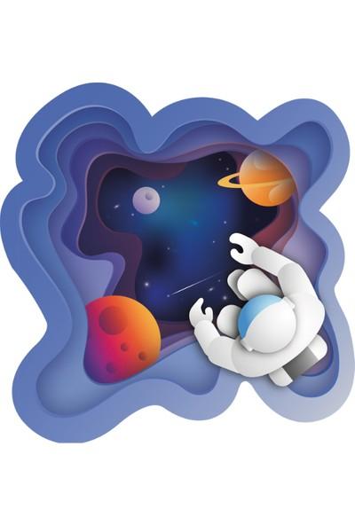 Ega Genç Odası Astronot Duvar Sticker