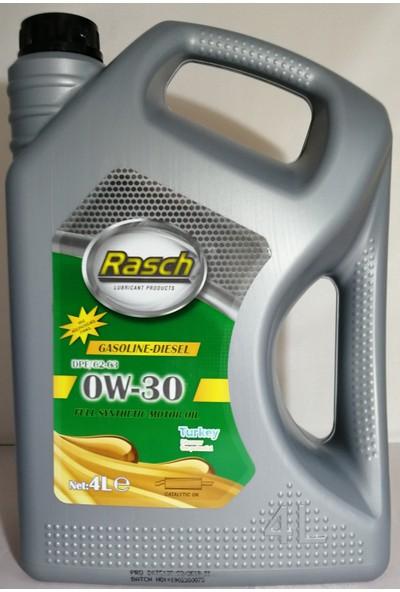 Rasch Benzin-Dizel 0W30 Dpf C2/C3 4 Litre