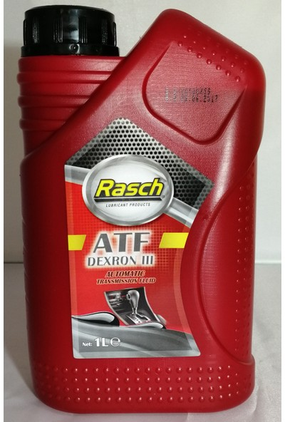 Rasch Atf Dextron Iıı Automatic Transmıssıon Fluid