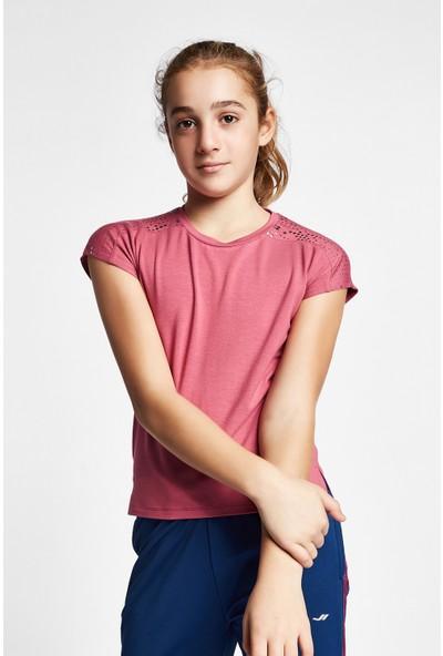 Lescon 19B-3140 Pembe Çocuk Kısa Kollu T-Shirt