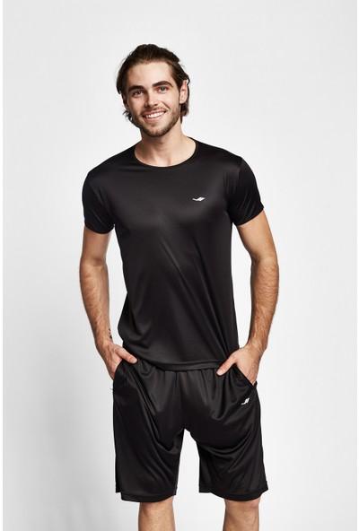 Lescon 19S-1220-19B Siyah Erkek Kısa Kollu T-Shirt