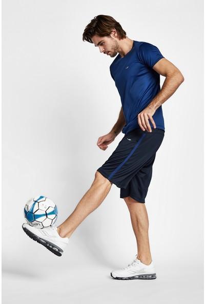 Lescon 19S-1220-19B Mavi Erkek Kısa Kollu T-Shirt