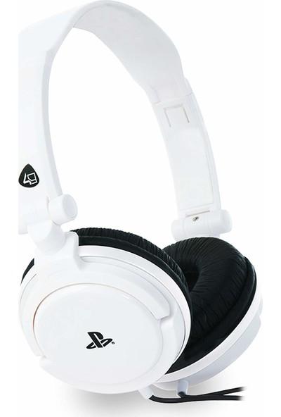 4Gamers Sony Resmi Lisanslı Stereo Oyun Kulaklığı - Beyaz (PS4 )