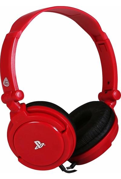 4Gamers Sony Resmi Lisanslı Stereo Oyun Kulaklığı - Kırmızı (PS4 )