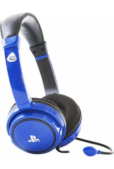 4Gamers Sony Resmi Lisanslı Stereo Oyun Kulaklığı - Mavi (PS4 )