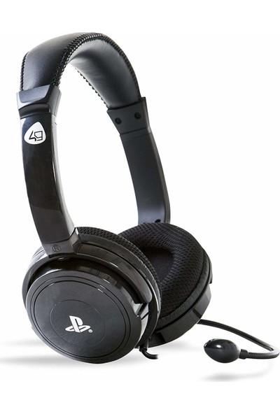 4Gamers Sony Resmi Lisanslı Stereo Oyun Kulaklığı - Siyah (PS4 )