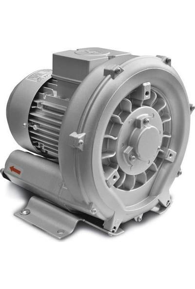 Gev Gk201Gev0.4M Tek Kademeli Blower Monofaze(220V) 0,4 Kw 80 M³/H