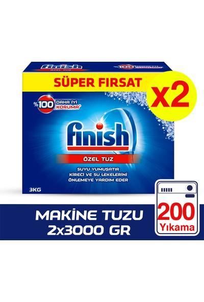 Finish Bulaşık Makinesi Tuzu 3000 gr x 2 Adet