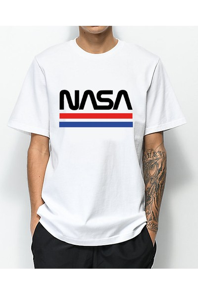 Taketshirt Nasa Tişört Logo