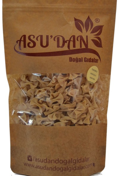 Asudan Doğal Gıdalar Turuncu Havuçlu Papyon Makarna300gr