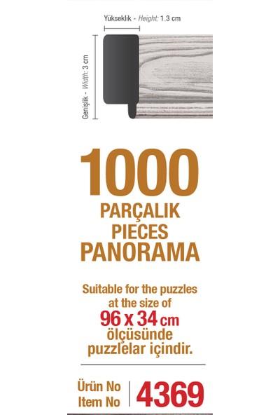 Art Puzzle Çerçevesi 1000'Lik Beyaz Panorama Çerçevesi