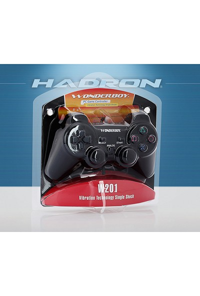 Hadron Wonderboy Analog Bilgisayar Usb Oyun Kolu W201