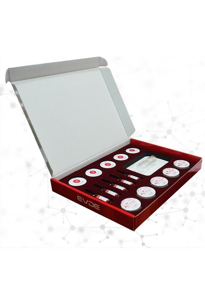 Evde Aesthetic Anti Aging Cilt Bakım Seti   Anti Aging Skin Care Kit