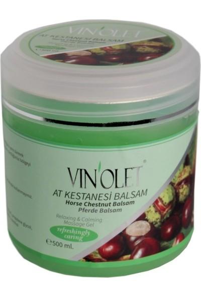 Vinolet At Kestanesi Balsamı Masaj Cilt Bakım Kremi 500 ml