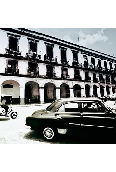 Vizyon Sanat Küba'Da Siyah Klasik Araba