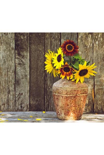 Vizyon Sanat Vazoda Çiçekler