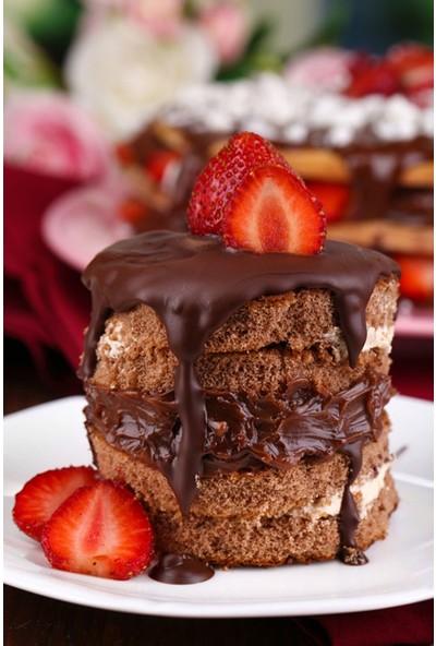 Vizyon Sanat Çikolatalı Pasta
