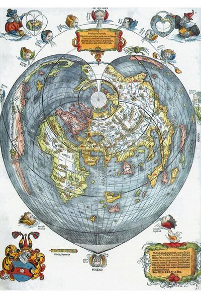 Vizyon Sanat Eski Dünya Haritası