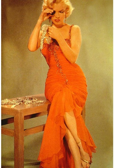 Vizyon Sanat Renkli Marlyn Monroe x v