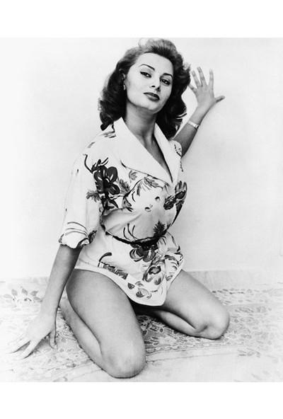 Vizyon Sanat Sophia Loren Fotoğrafı