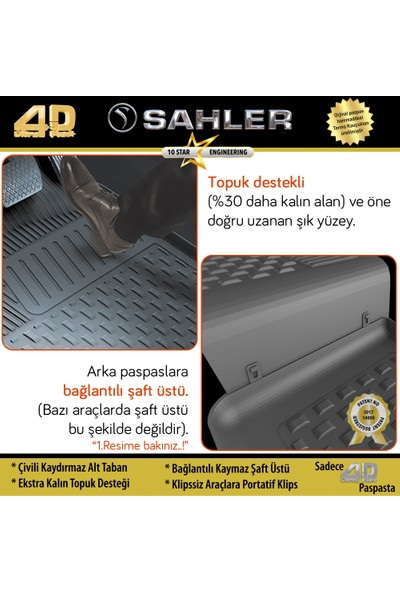 Sahler 4.5D Siyah Opel Astra J HB 2010-2015 Paspas