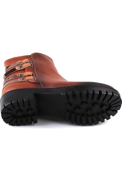 Miss Fonzo 163 Taba Günlük Termo Taban Kadın Bot Ayakkabı
