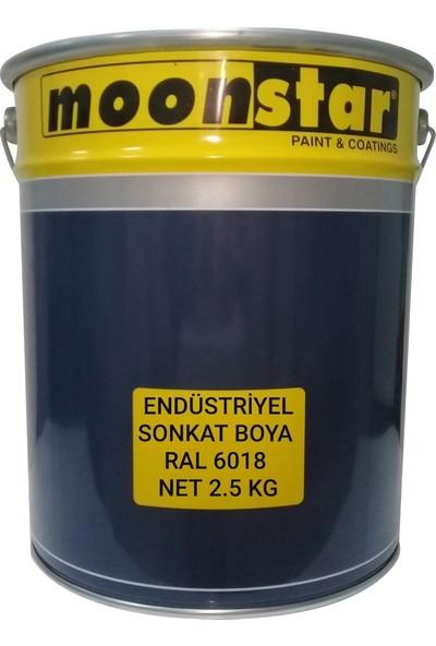 Moonstar Endüstriyel Boya Ral 6018