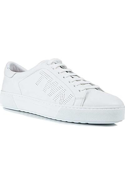 D's Damat Beyaz Ayakkabı