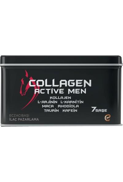 Voonka Collagen Active Men 7 Saşe Yeşil Elma Aromalı