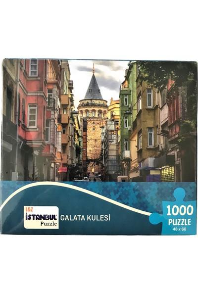 İstanbul Puzzle 1000 Parça Galata Kulesi Küçük Kutulu 48X68