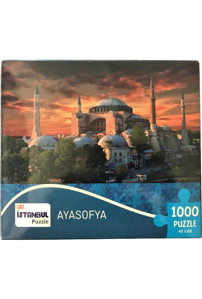İstanbul Puzzle 1000 Parça Ayasofya Küçük Kutulu 48X68