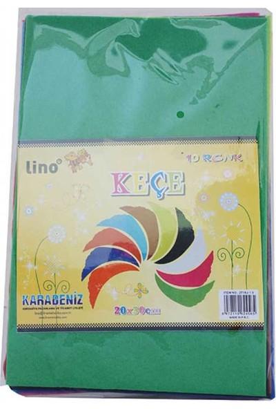 Lino Keçe 10 Renk (50X70Cm) 2718Jq