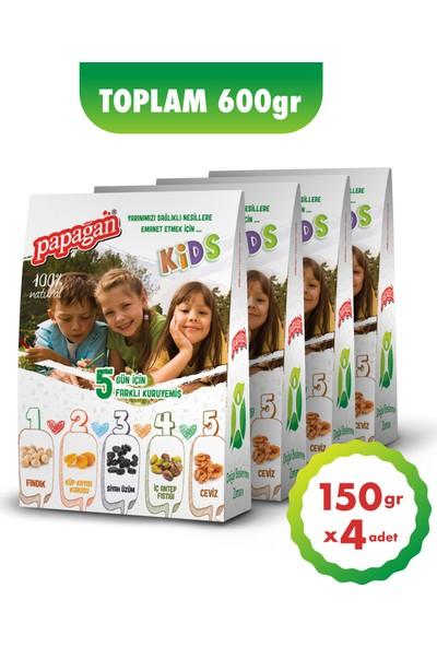 Papağan Kids Beslenme Paketi (150 gr x 4 paket)