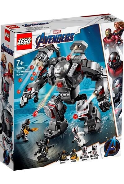 LEGO Super Heroes 76124 Savaş Makinesi Patlatıcı