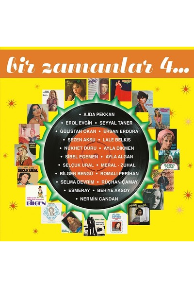 Bir Zamanlar 4 Plak (2 LP) - Çeşitli Sanatçılar