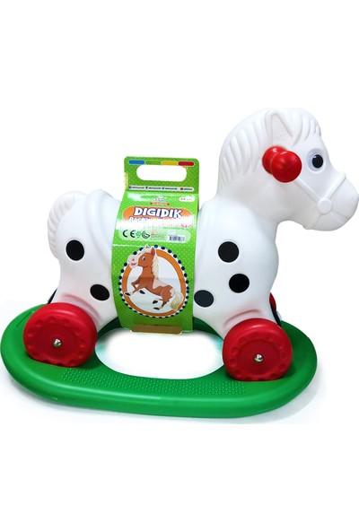 Akar Oyuncak Tekerlekli Ve Sallanan Dıgıdık At