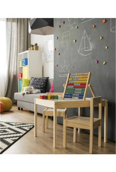Ezem Çocuk Masası ve Sandalyesi
